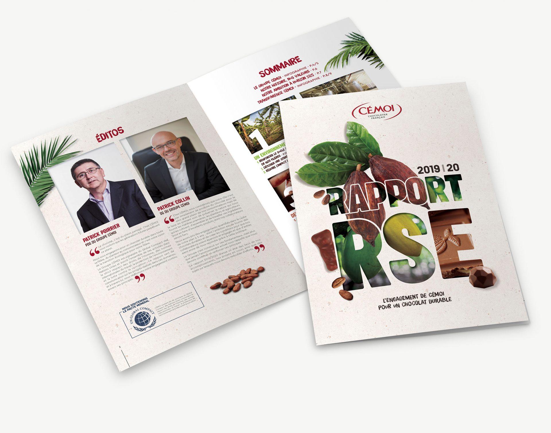 Rapport RSE Cémoi 2019-2020